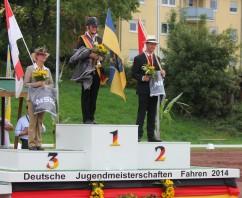Marcella Meinecke ist neue Deutsche Jugendmeisterin 2014